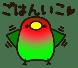 Lovebird sticker #2044483