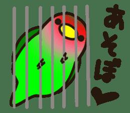 Lovebird sticker #2044484