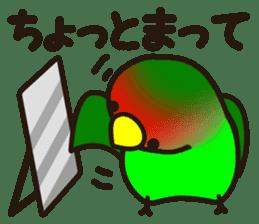 Lovebird sticker #2044485