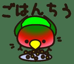 Lovebird sticker #2044486