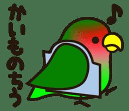 Lovebird sticker #2044492