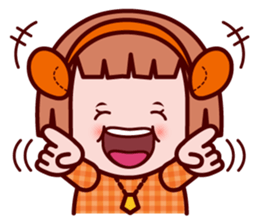 Sunny The little zodiac lover girl sticker #2044781
