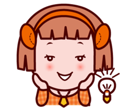 Sunny The little zodiac lover girl sticker #2044805