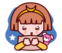 Sunny The little zodiac lover girl sticker #2044811