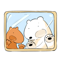 Polar bear & Capybara
