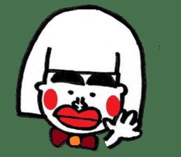 kuchibirukochan sticker #2047013