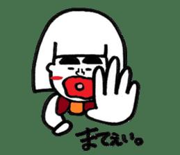 kuchibirukochan sticker #2047023