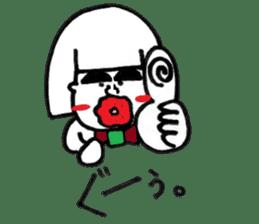kuchibirukochan sticker #2047025