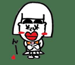 kuchibirukochan sticker #2047026