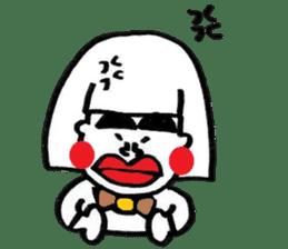 kuchibirukochan sticker #2047031