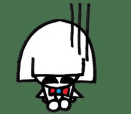 kuchibirukochan sticker #2047033