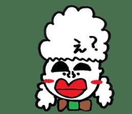 kuchibirukochan sticker #2047037