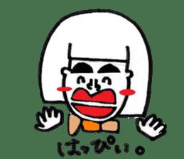 kuchibirukochan sticker #2047046