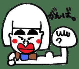 kuchibirukochan sticker #2047047