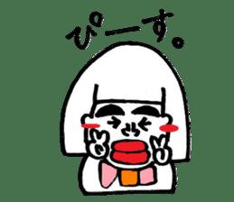 kuchibirukochan sticker #2047051