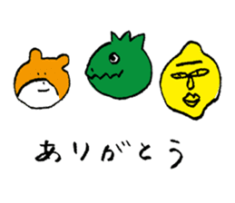 jarilemon&dinosaur&bear&cat sticker #2048298