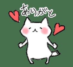 lovey dovey cat sticker #2048493