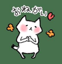 lovey dovey cat sticker #2048495