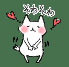 lovey dovey cat sticker #2048501