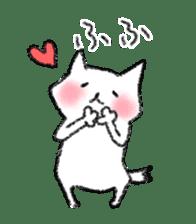 lovey dovey cat sticker #2048502