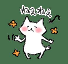 lovey dovey cat sticker #2048503