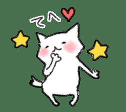 lovey dovey cat sticker #2048504