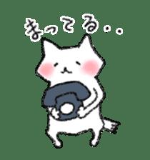lovey dovey cat sticker #2048506