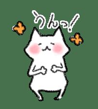 lovey dovey cat sticker #2048508