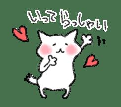 lovey dovey cat sticker #2048509