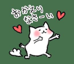 lovey dovey cat sticker #2048510