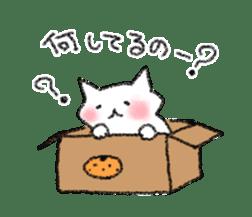 lovey dovey cat sticker #2048514