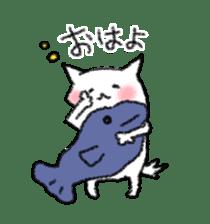 lovey dovey cat sticker #2048517