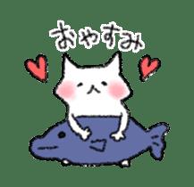 lovey dovey cat sticker #2048518