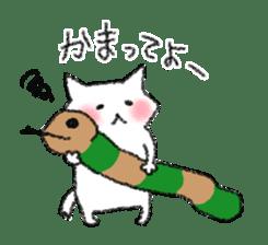 lovey dovey cat sticker #2048523
