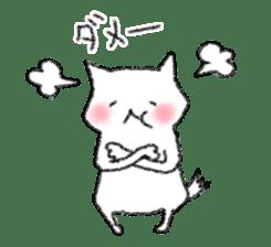 lovey dovey cat sticker #2048529