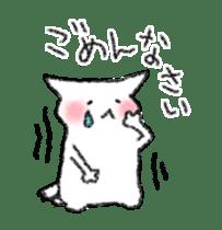 lovey dovey cat sticker #2048532