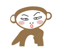Mon and Rickey funny days sticker #2050857