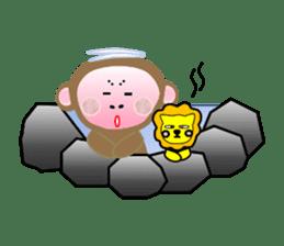 Mon and Rickey funny days sticker #2050880