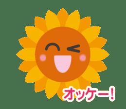 Voice of sunflower sticker #2051014