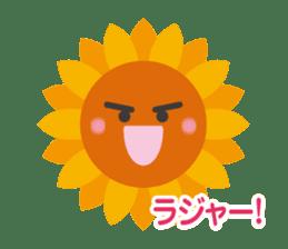 Voice of sunflower sticker #2051015