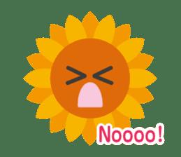 Voice of sunflower sticker #2051016
