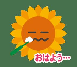 Voice of sunflower sticker #2051017