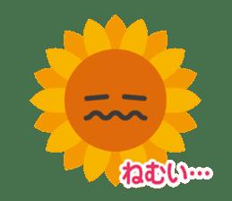 Voice of sunflower sticker #2051018