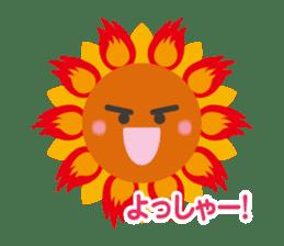Voice of sunflower sticker #2051021