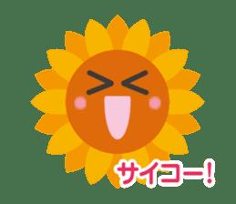 Voice of sunflower sticker #2051022
