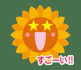 Voice of sunflower sticker #2051025