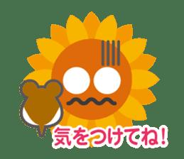 Voice of sunflower sticker #2051026