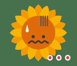 Voice of sunflower sticker #2051027