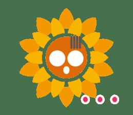 Voice of sunflower sticker #2051028