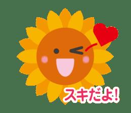 Voice of sunflower sticker #2051029